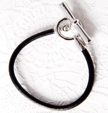 Bracelet Leather and Link
