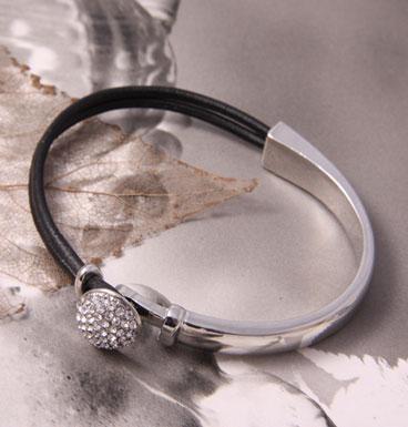 Bracelet Strass Button