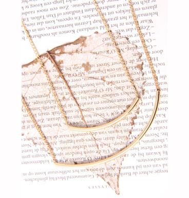 Necklace Double line
